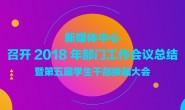 新媒体中心召开2018年部门工作会议总结暨第五届学生干部换届大会